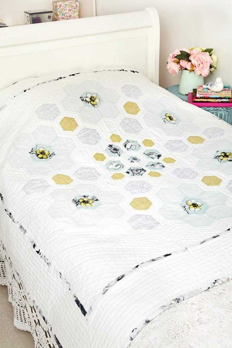 Hexagon Templates For Quilting