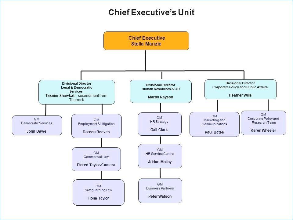 Hierarchy Flowchart Template Word
