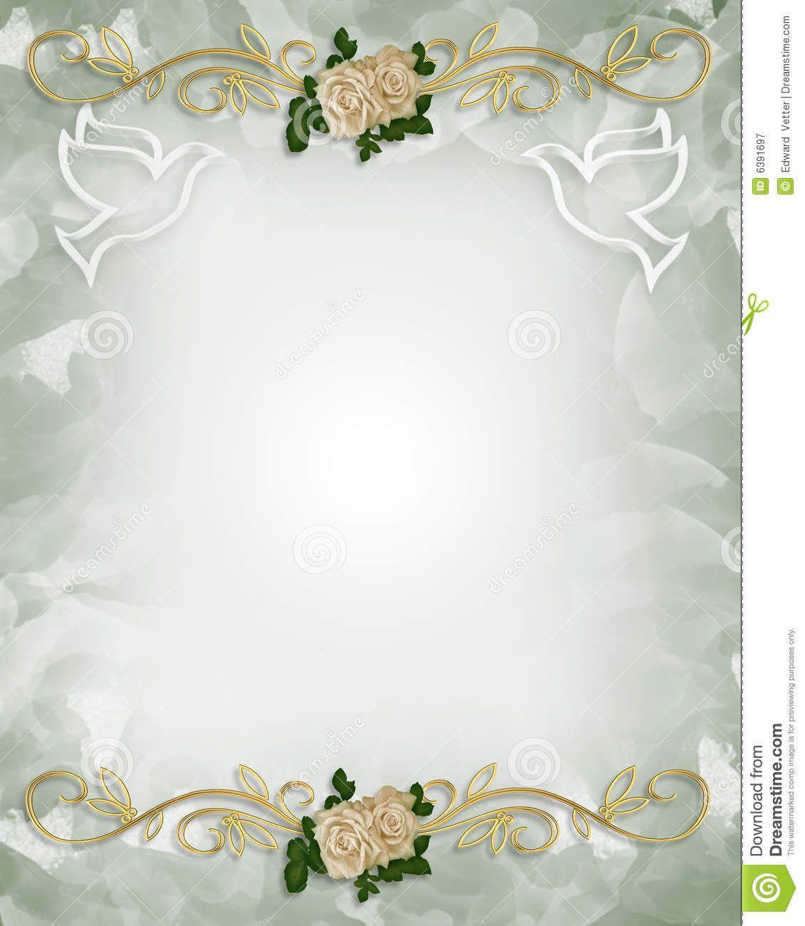 Hindu Wedding Invitation Blank Templates