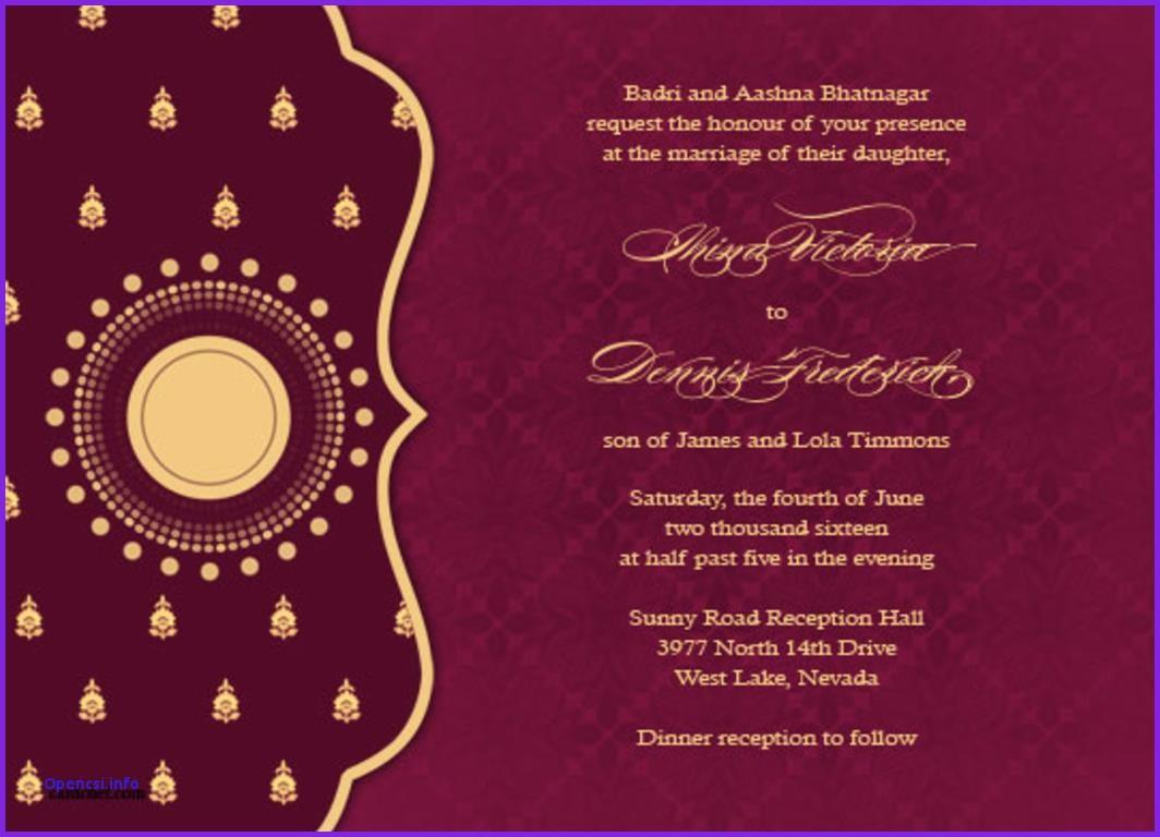 Hindu Wedding Invitation Ppt Templates Free Download