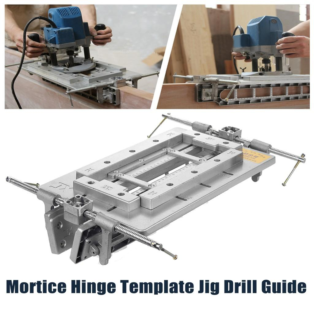 Hinge Router Guide Template
