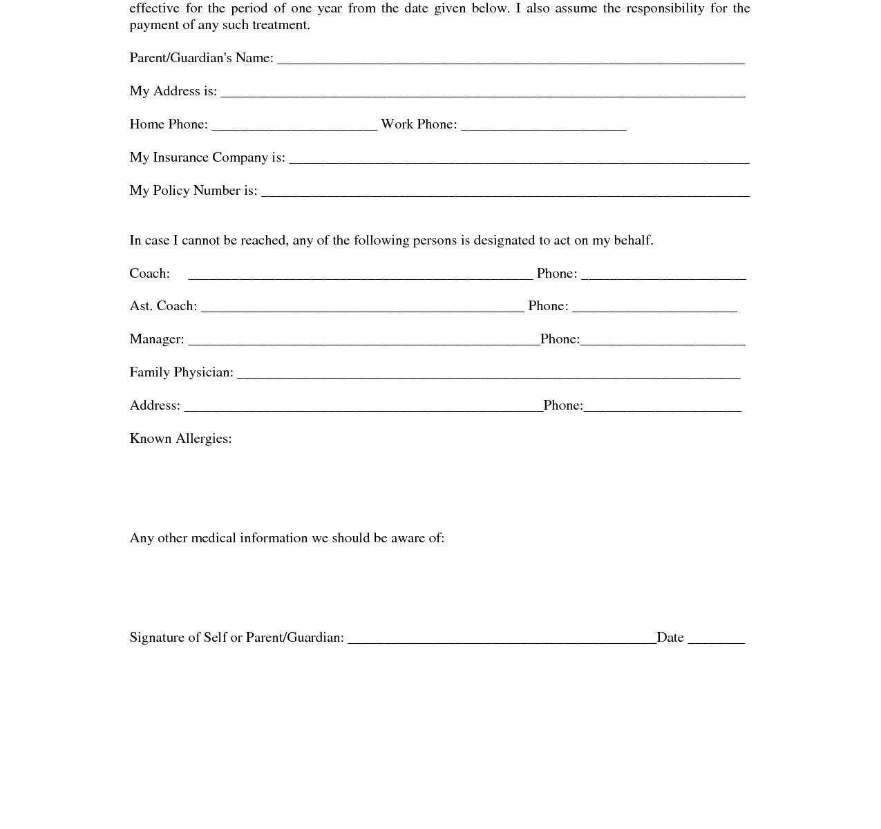 Hipaa Authorization Form Template