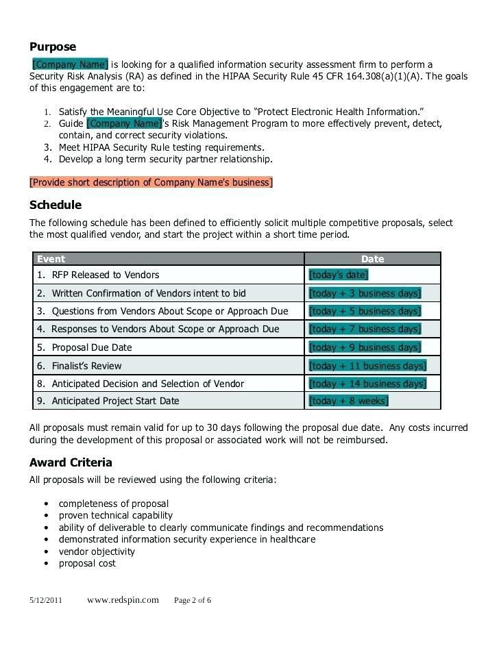 Hipaa Security Risk Analysis Sample