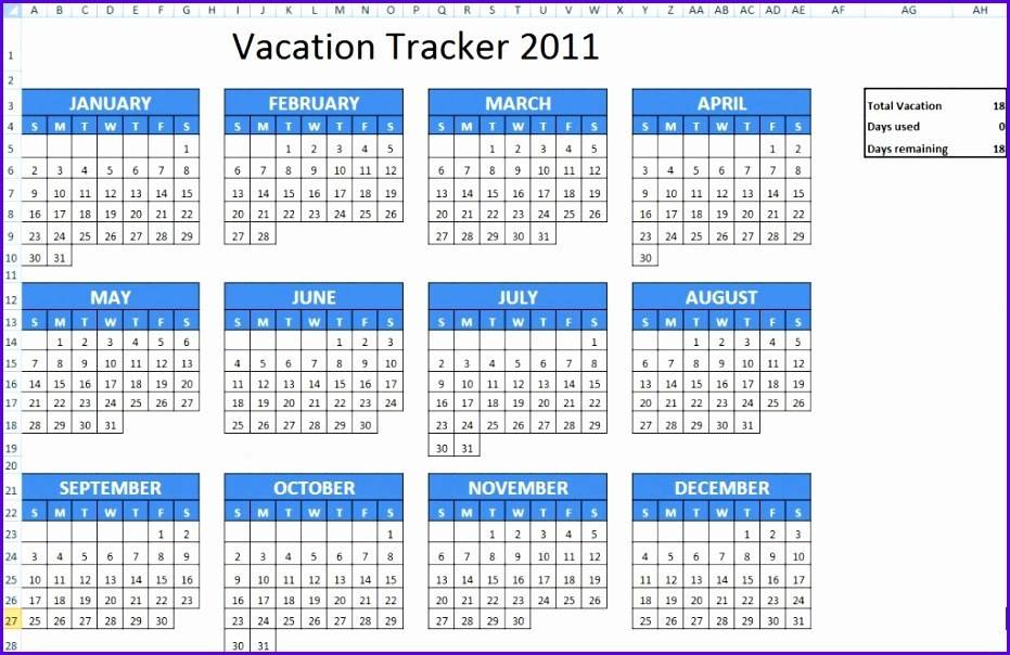 Holiday Rotation Schedule Template
