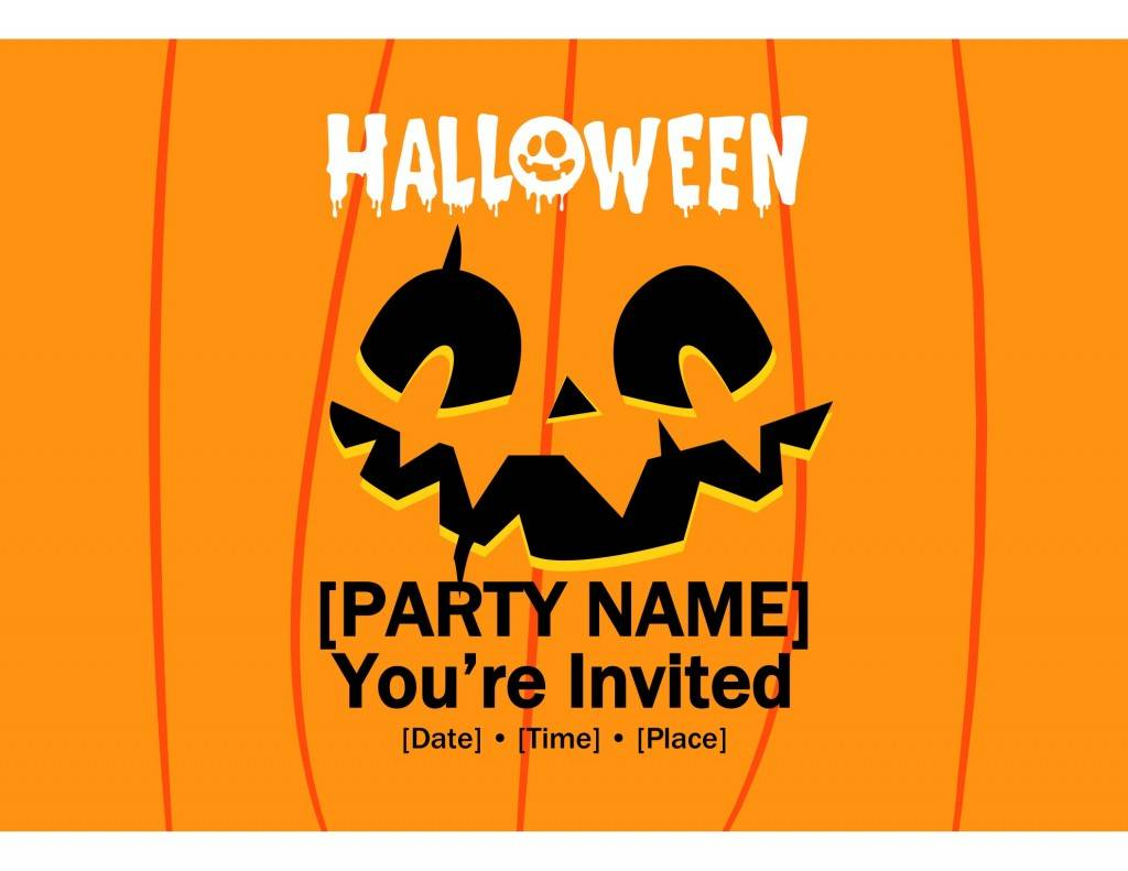 Hollywood Themed Party Invitation Template