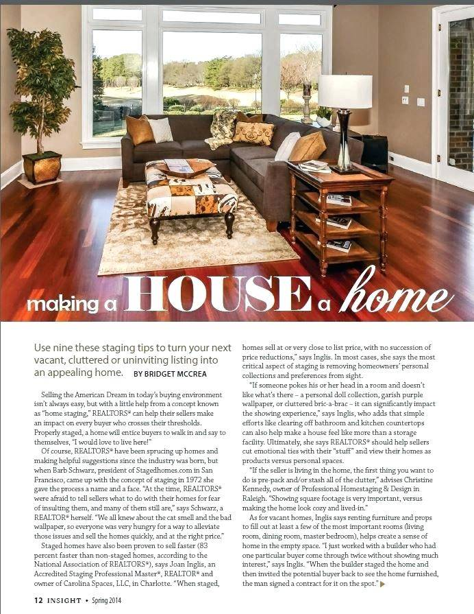 Home Staging Business Plan Example