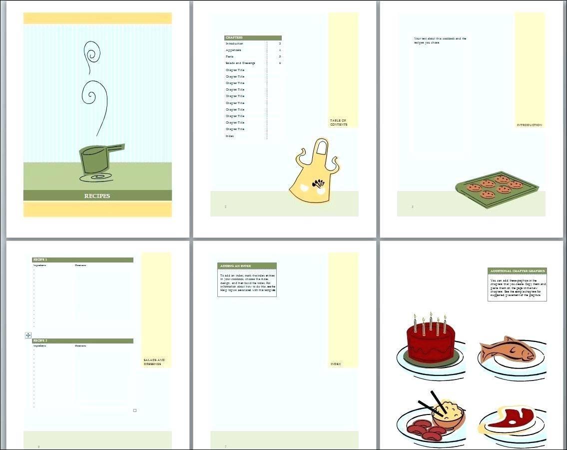 Homemade Cookbook Templates