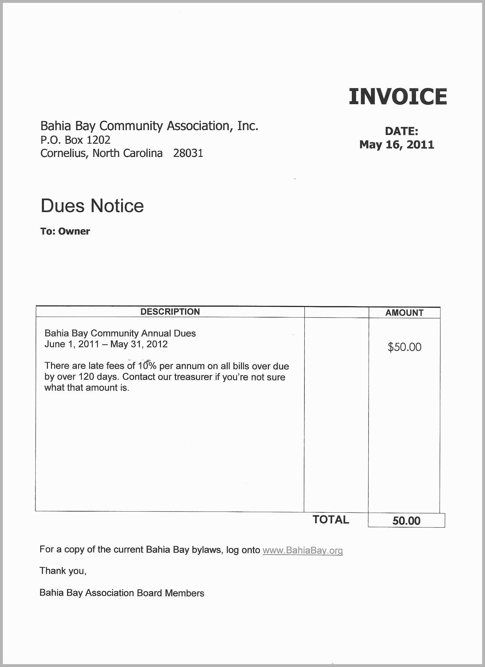 Homeowners Association Sample Financial Statements