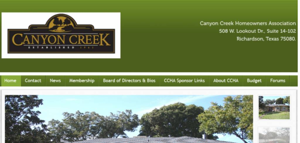 Homeowners Association Website Templates Free