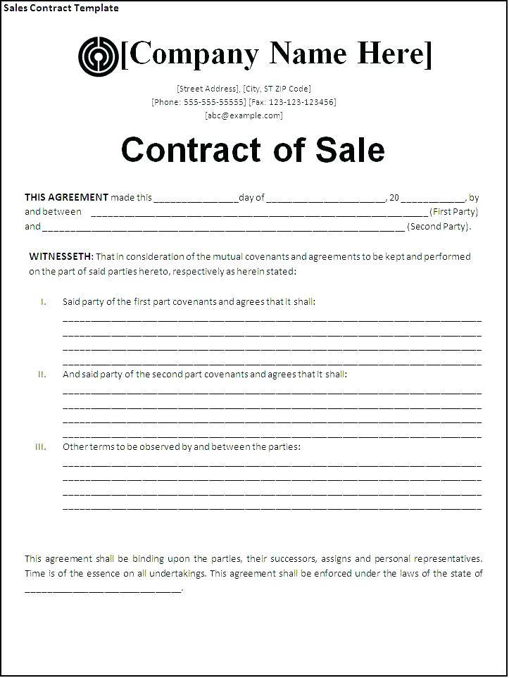 Horse Sale Contract Template Australia