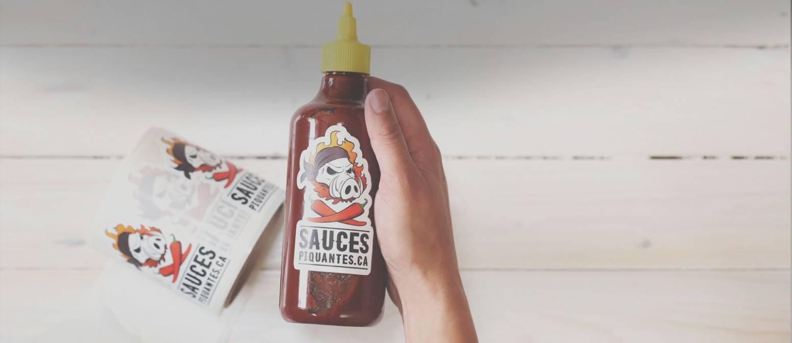 Hot Sauce Label Template