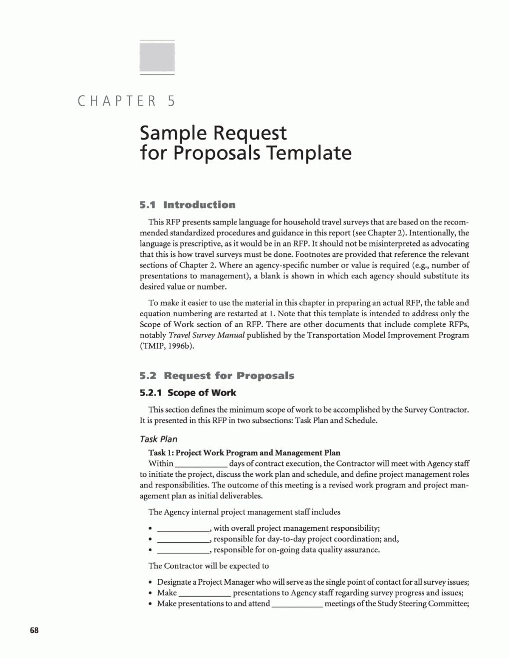 Hotel Proposal Template