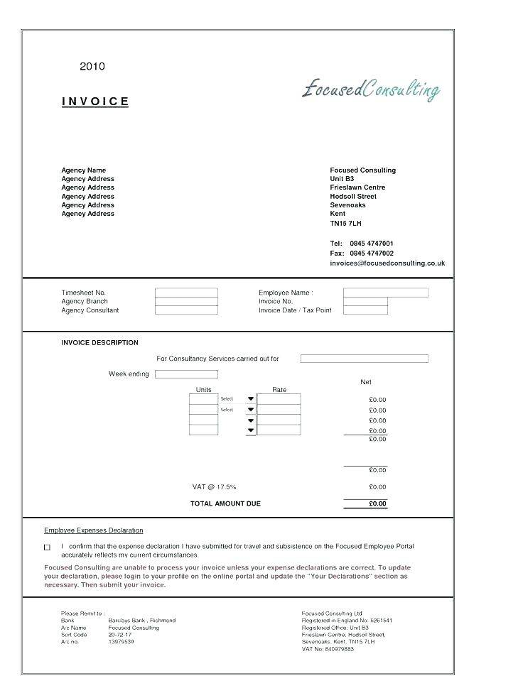 Hourly Consultant Contract Template