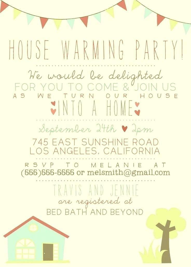 Housewarming Invitation Template Online