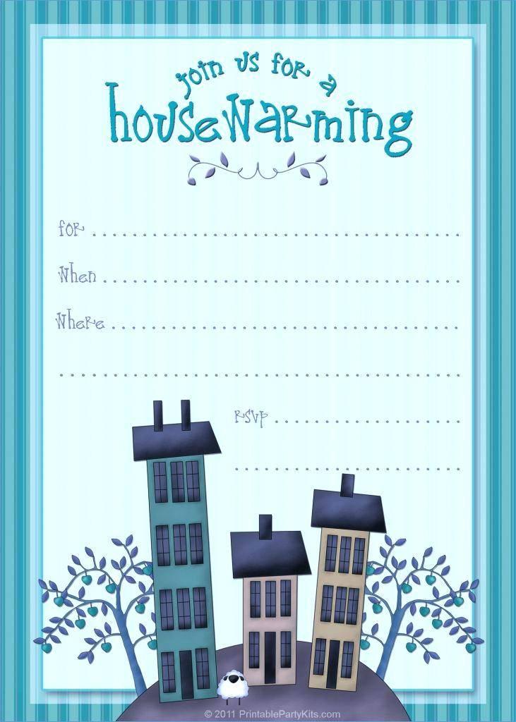 Housewarming Invitation Template Traditional