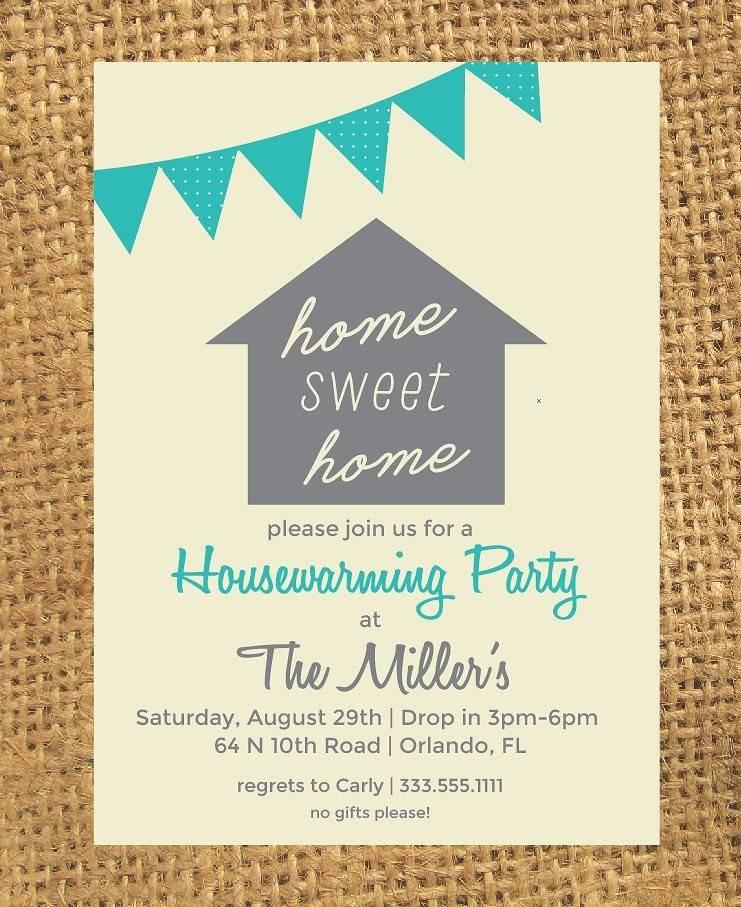 Housewarming Invitation Templates Word