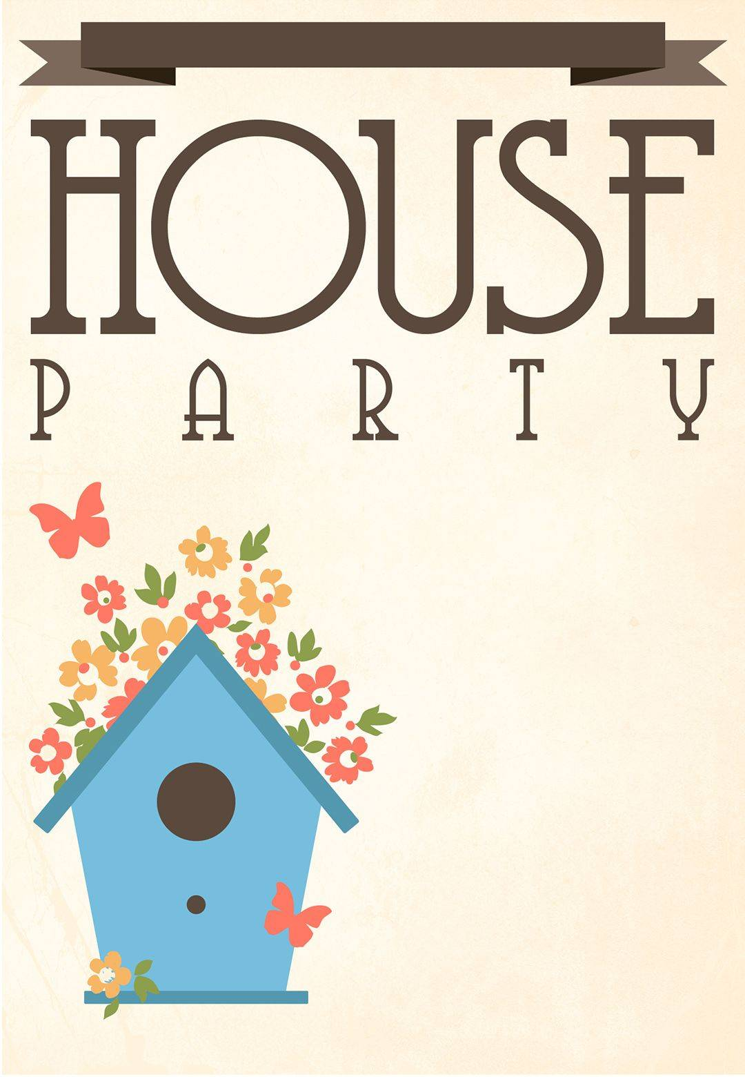 Housewarming Party Invitation Templates