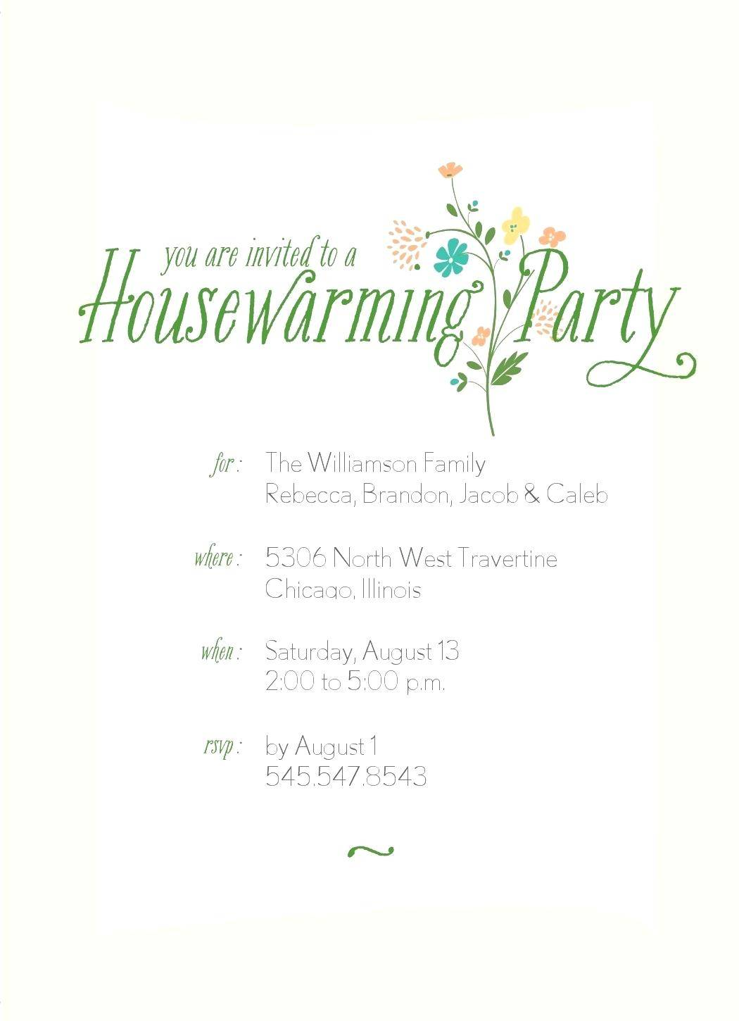 Housewarming Party Printable Games