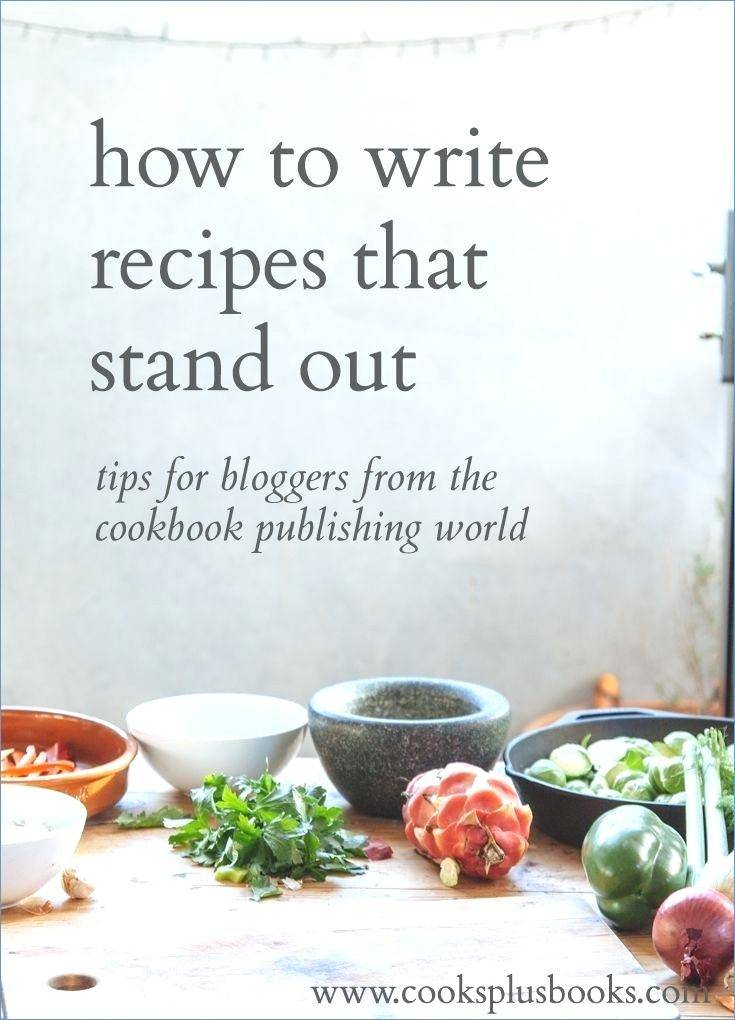 How To Create A Cookbook Template