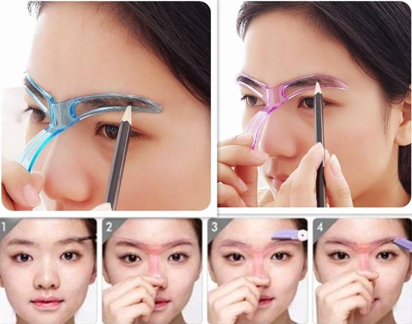 How To Use Eyebrow Template Stencil