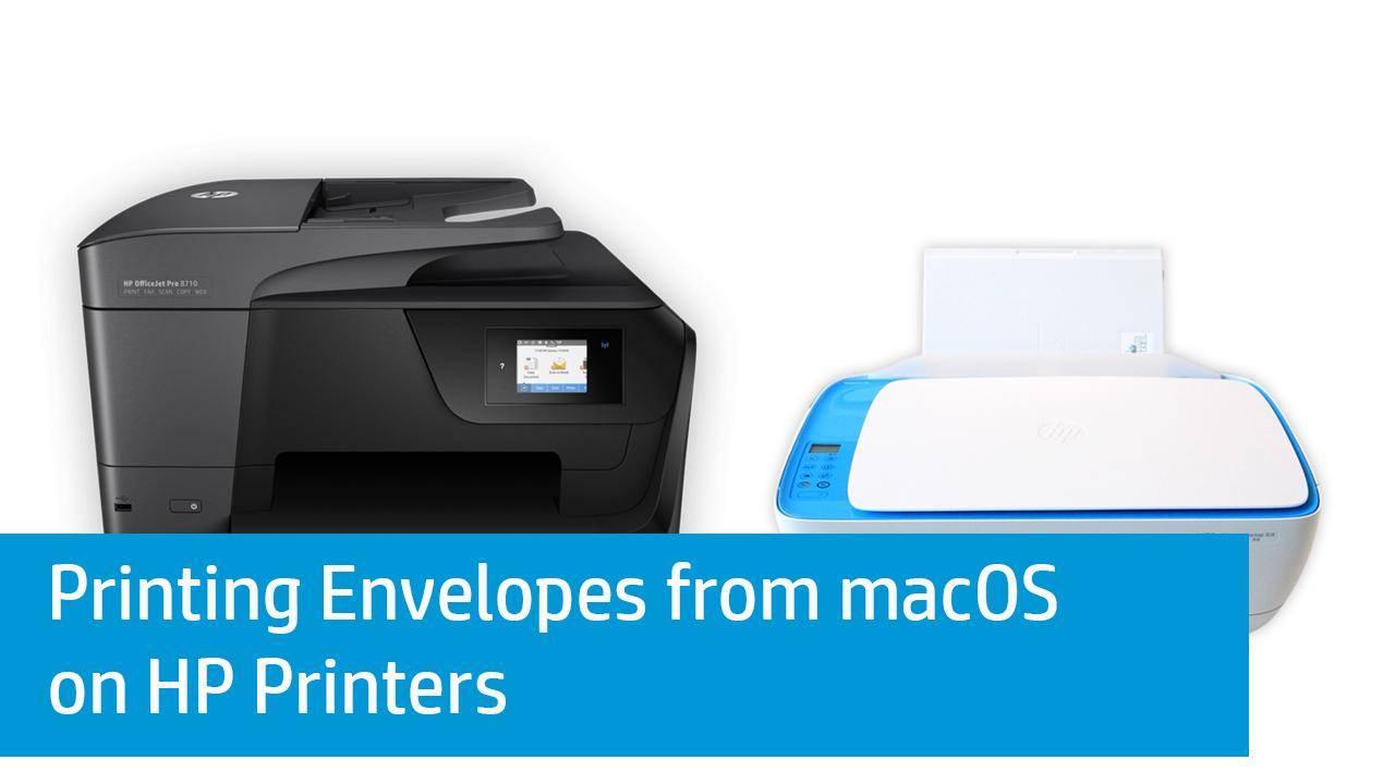 Hp Envelope Printing Template