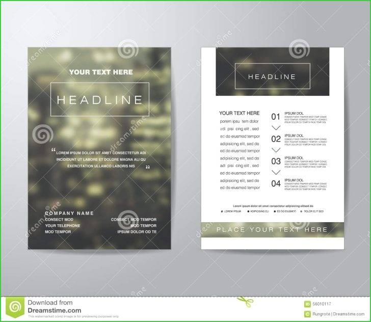 Hp Tri Fold Brochure Paper 180g Template