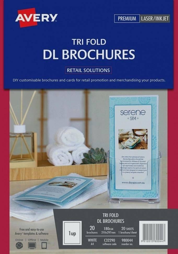 Hp Tri Fold Brochure Paper Glossy Template