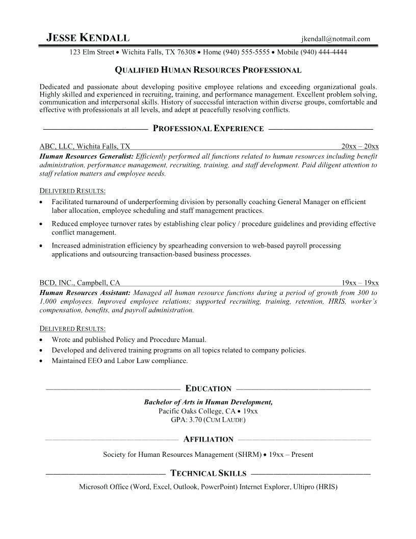 Hr Procedures Manual Samples