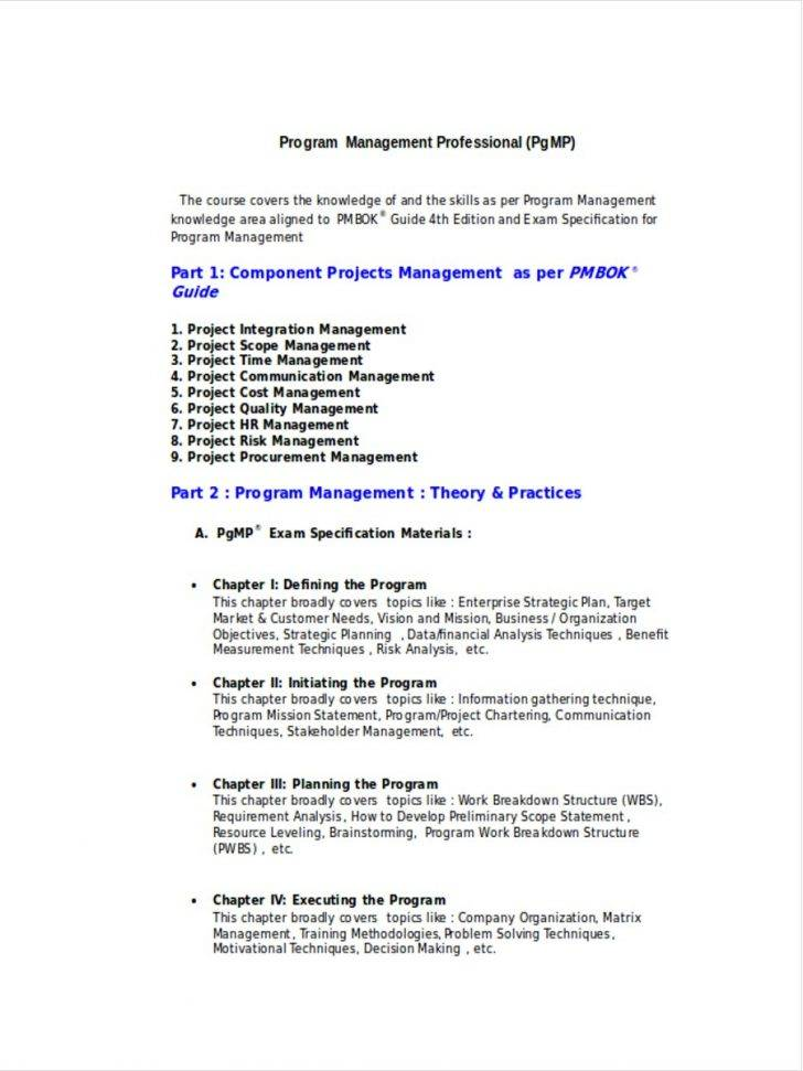 Hr Strategic Planning Project Scope Statement Template