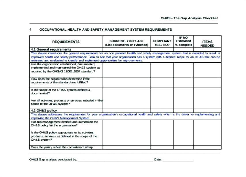Hse Management Manual Template