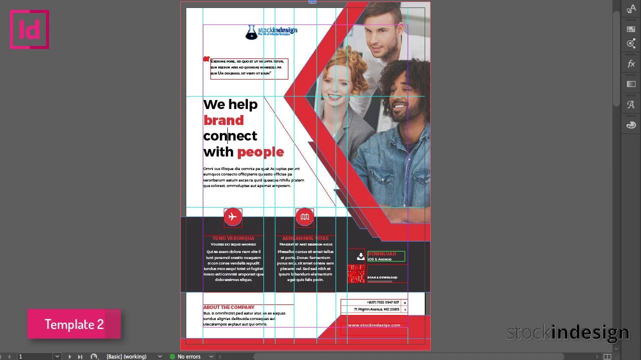 Html Newsletter Template Indesign