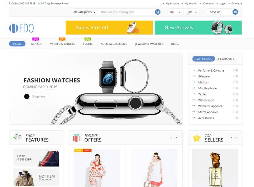 Html5 Ecommerce Templates Free Download