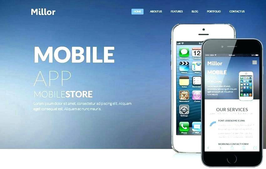 Html5 Mobile App Templates Free