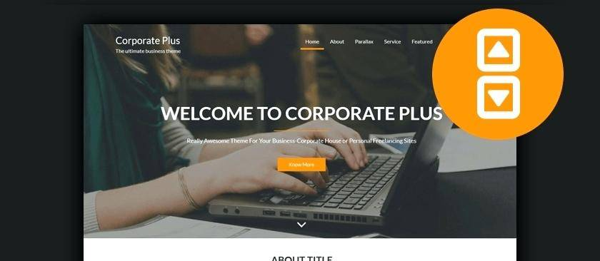 Html5 Parallax Website Template Free Download