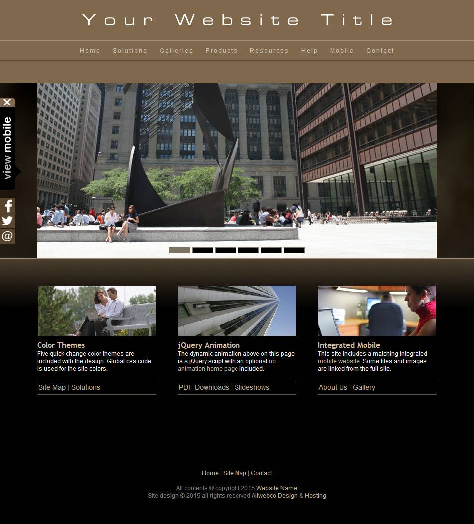 Html5 Portfolio Website Templates Free Download
