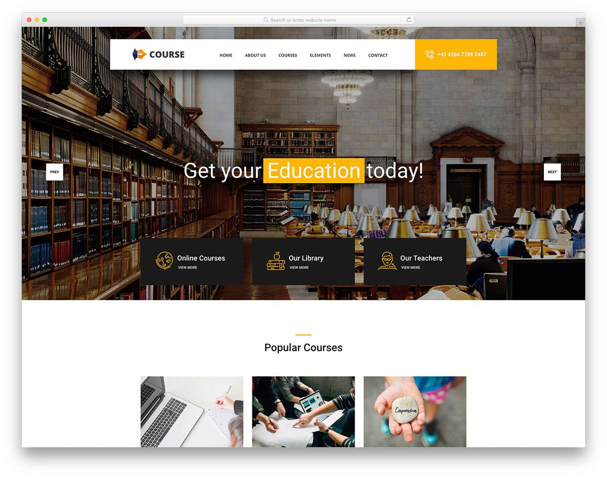 Html5 Responsive Templates For Educational Websites