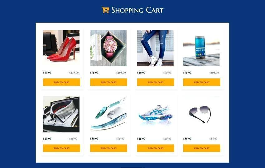 Html5 Responsive Templates For Online Shopping