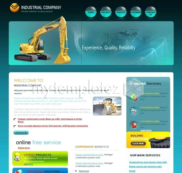 Html5 Responsive Templates For Software Company
