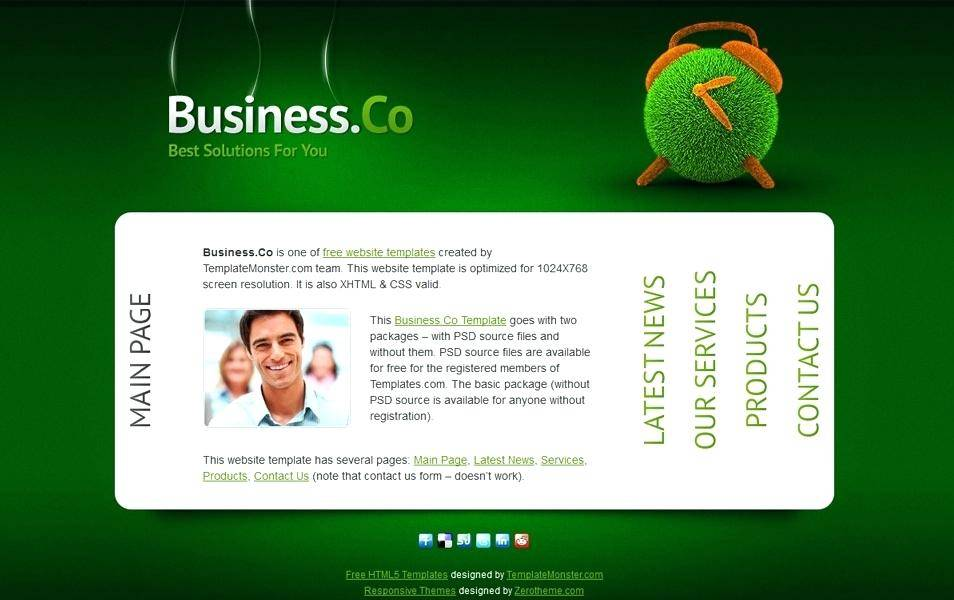 Html5 Responsive Templates Free Download For Software Company