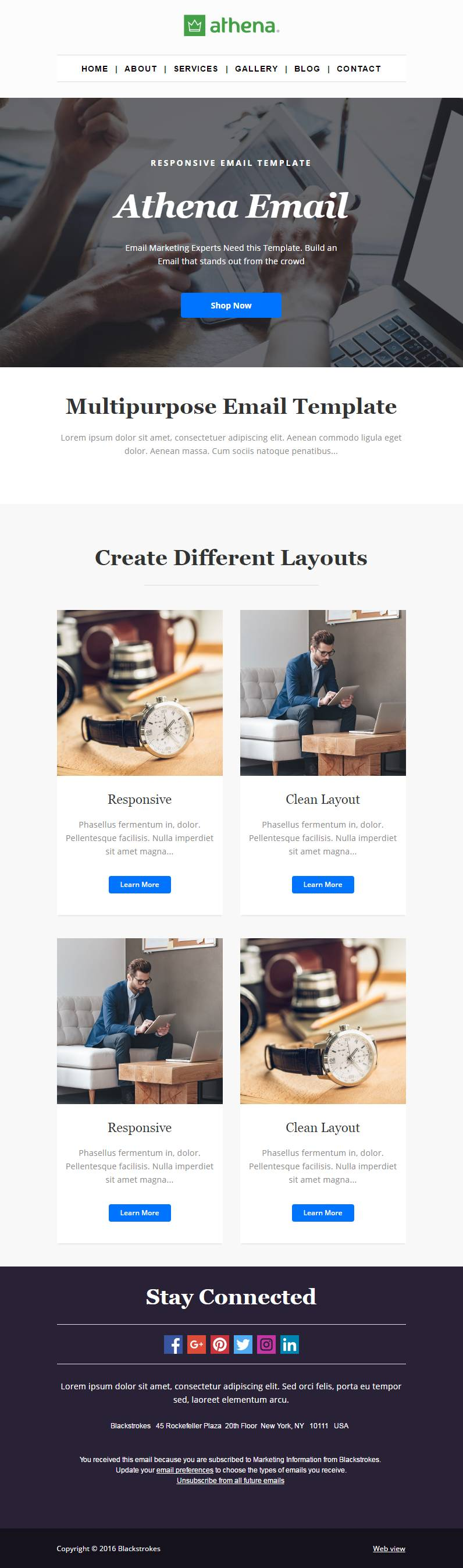 Hubspot Email Template Responsive