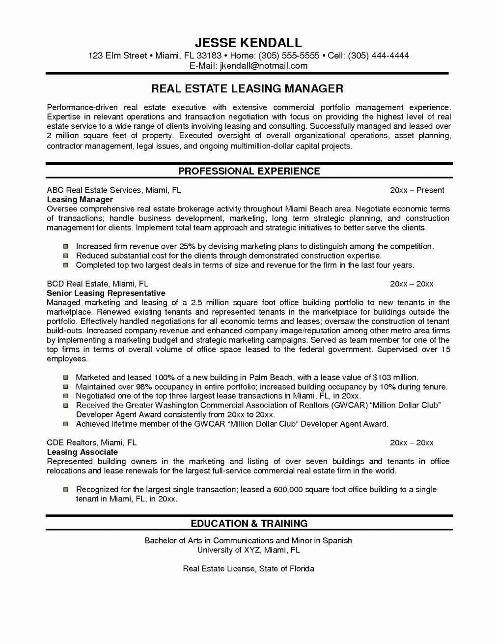 Human Resource Coordinator Resume Template