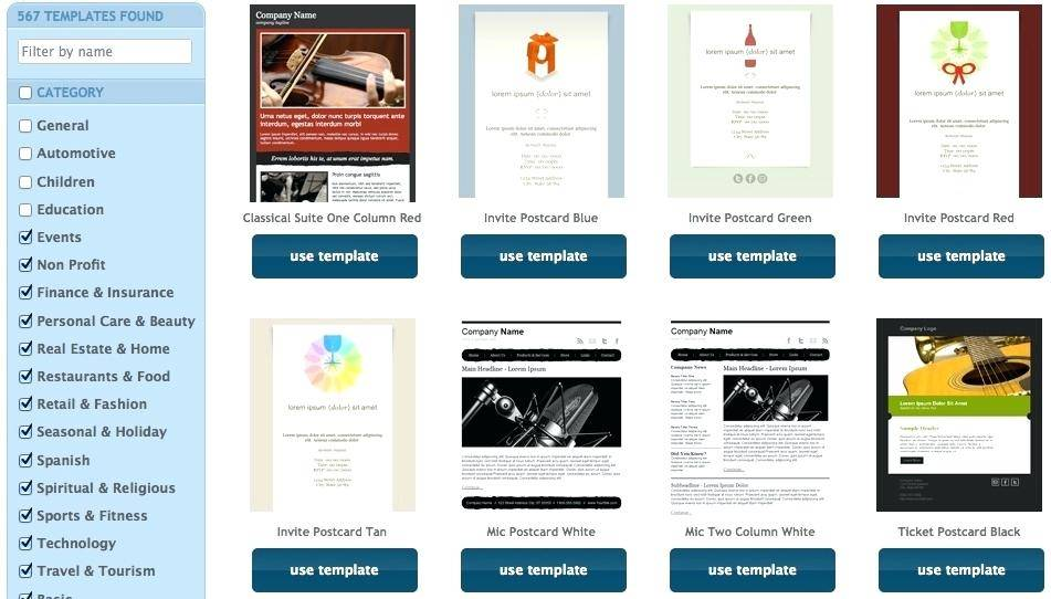 Icontact Newsletter Templates