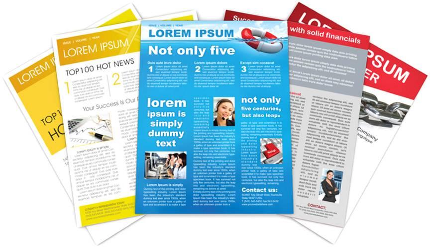 Illustrator Newsletter Templates Free