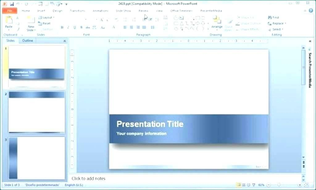Import Slide Template Powerpoint 2010