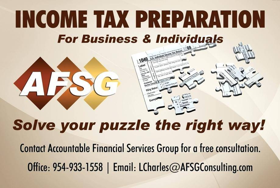Income Tax Preparation Flyers Templates
