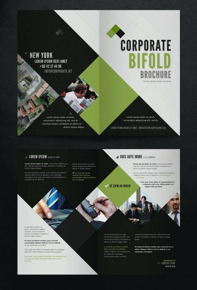 Indesign Bi Fold Brochure Template Free