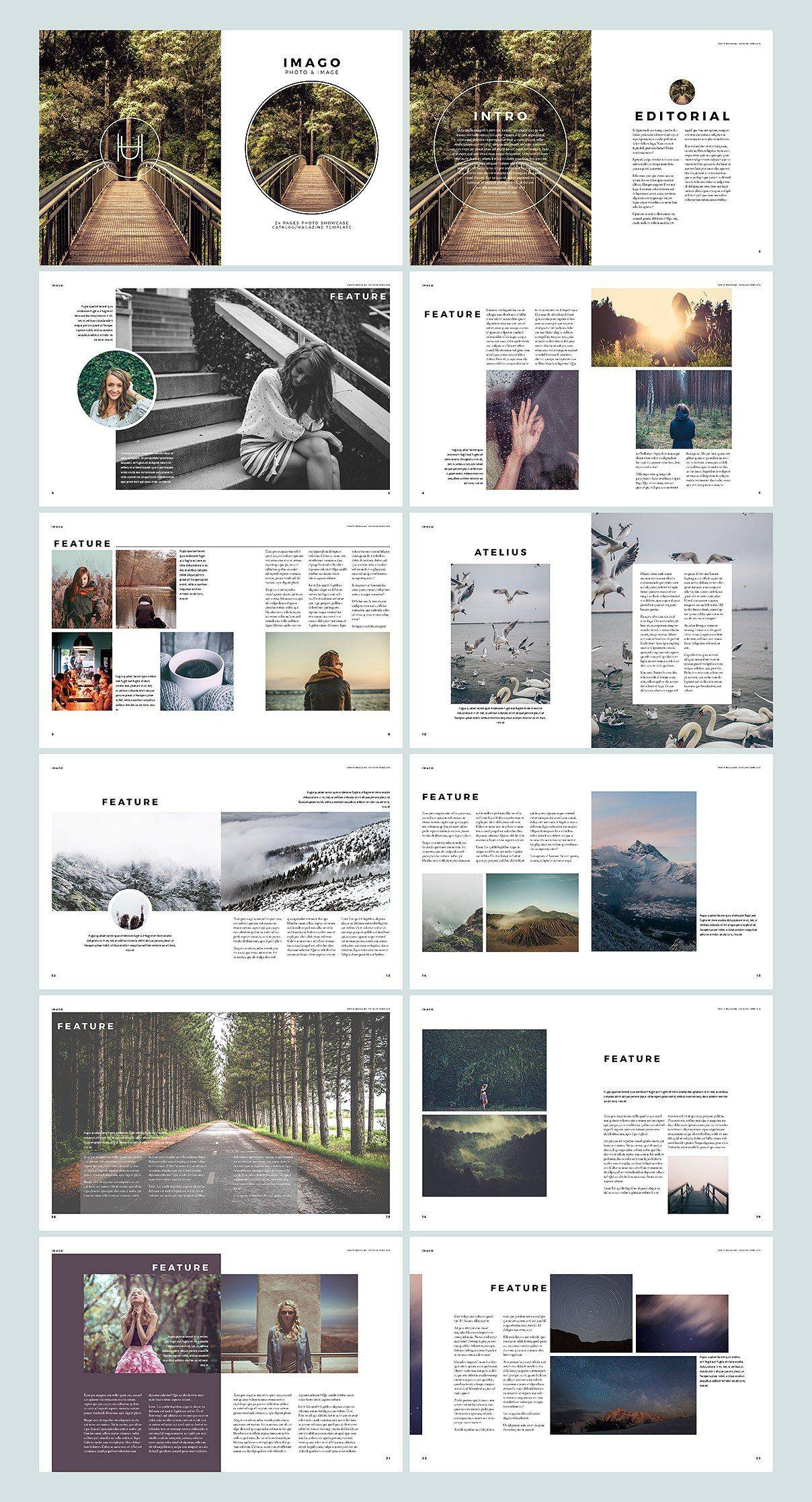 Indesign Photobook Templates