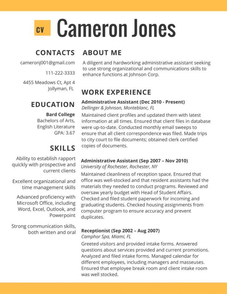 Indesign Templates For Resumes