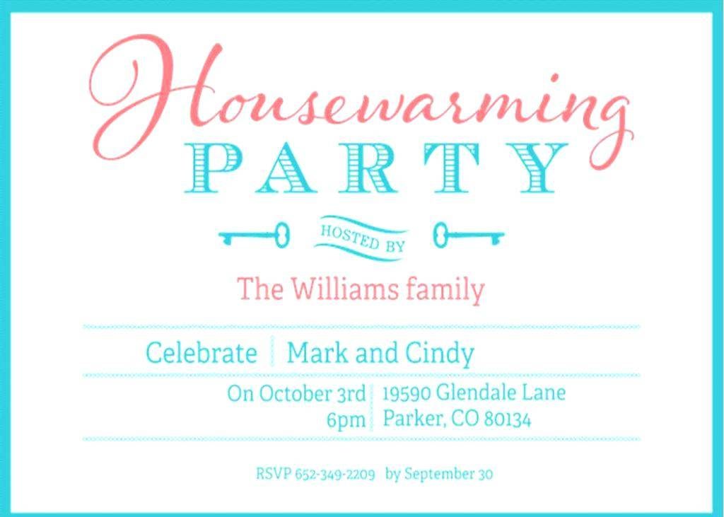 Indian Housewarming Invitation Templates Free Download