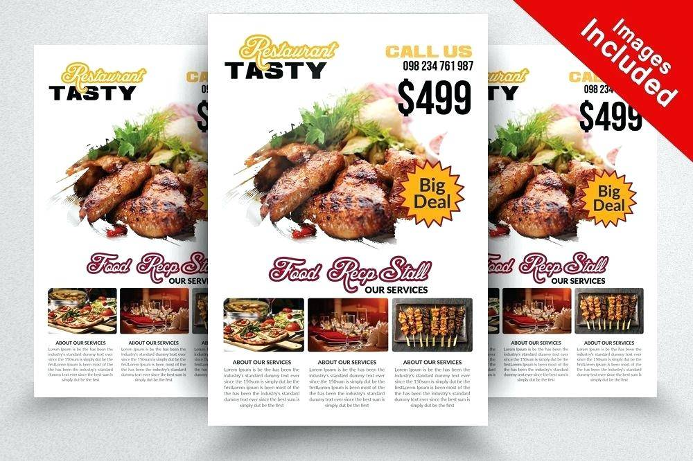 Indian Restaurant Flyer Templates Free Download